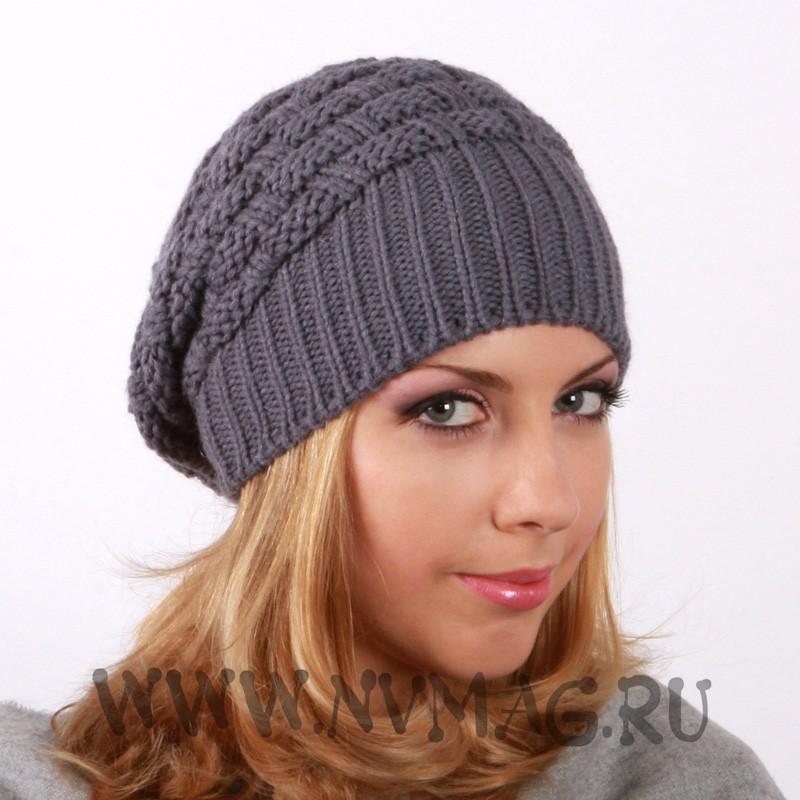 Интернет-магазины, где купить Шапка с фактурным плетением. Вязаная шапка - это аксессуар