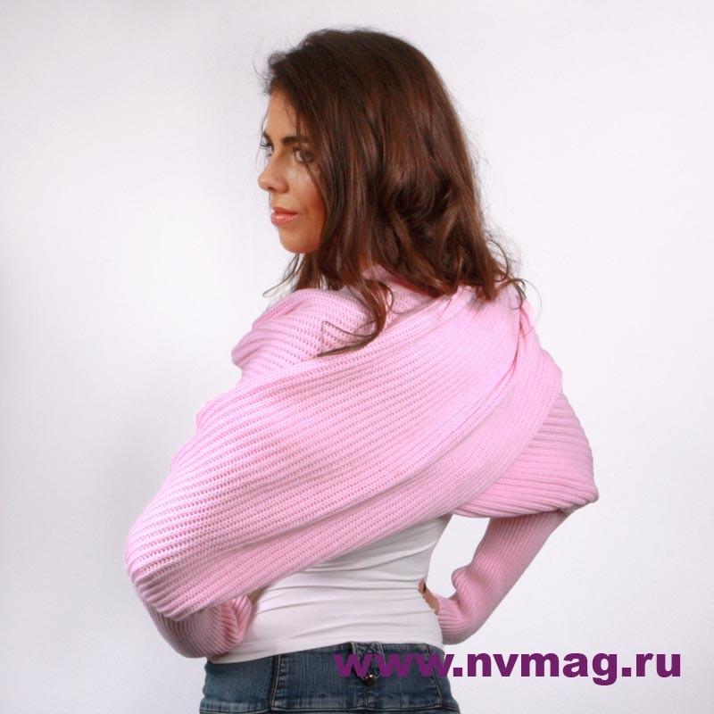 Болеро нежно-розового цвета - 2